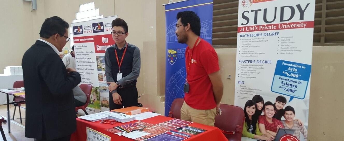 Perguruan Tinggi Malaysia Ikuti Pameran Pendidikan di SIKL