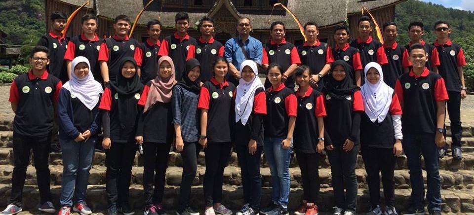 Studi Wisata Pasukan Paskibraka KBRI Kuala Lumpur ke Sumatera Barat