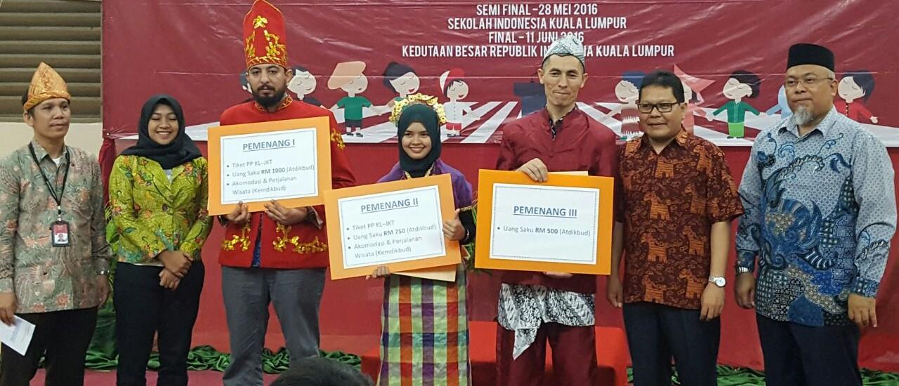 Moh. Michail Asal Yordania Juara Lomba Pidato Bahasa Indonesia