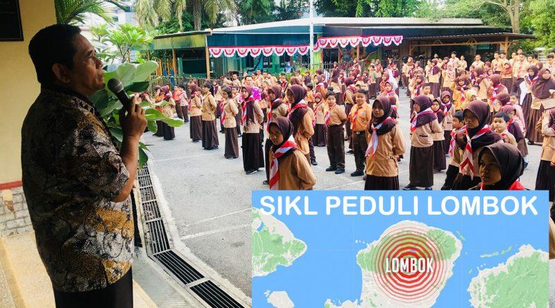 Siswa SIKL Menggalang Dana Solidaritas untuk Lombok
