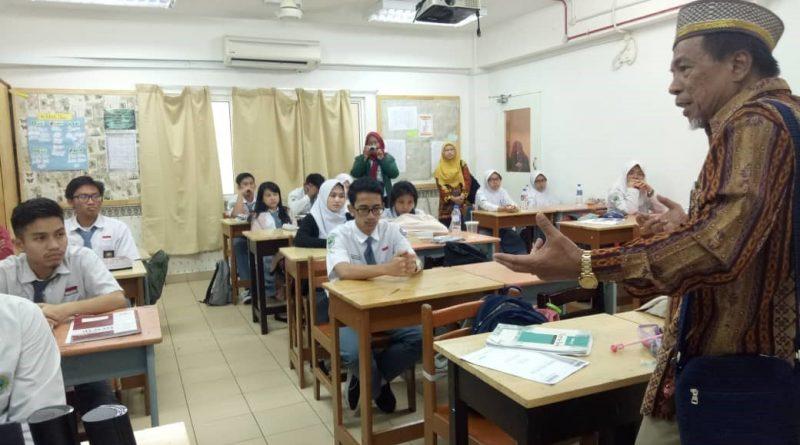 Guru Besar FKIP Universitas Hamka - Jakarta Motivasi Siswa SIKL
